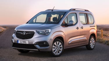 Vauxhall Combo Life - front static