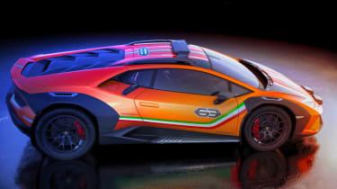 Lamborghini Huracan Sterrato Concept side