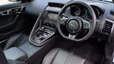 Jaguar F-Type R Coupe interior