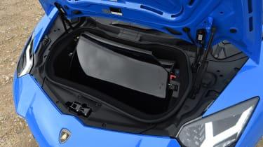 Lamborghini Aventador S Roadster - front boot