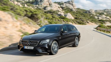 Mercedes E 43 4MATIC Estate - front driving
