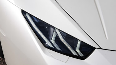 New Lamborghini Huracan headlight