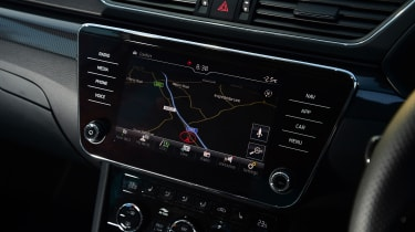 Skoda Superb Sportline - navigation