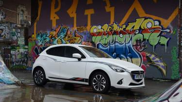 Mazda 2 Sport Black static