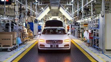 Volvo production