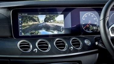 Mercedes E 400 d Estate - reversing camera