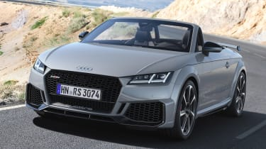 Audi TT RS Roadster - front action