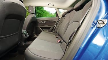 SEAT Leon - rear seats
