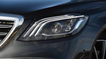 Mercedes S-Class - front light