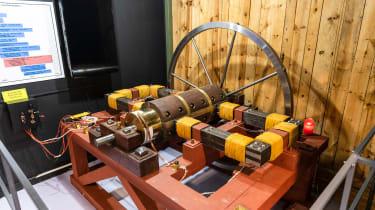 Grampian Transport Museum - generator