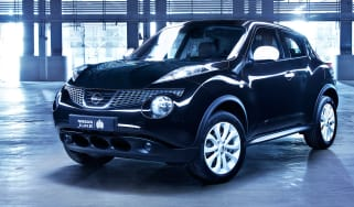 Nissan Juke Ministry of Sound edition front three-quarters