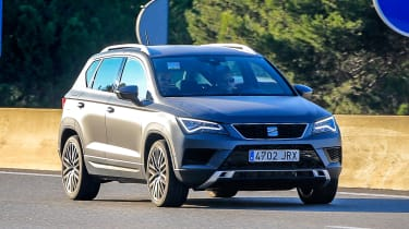 SEAT Ateca Cupra on road