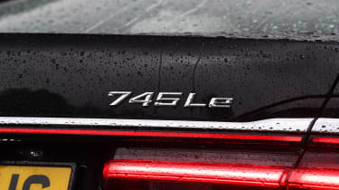 BMW 7 Series - rear badge
