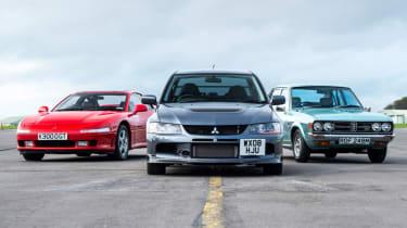 Mitsubishi's 100th year celebration - three classics