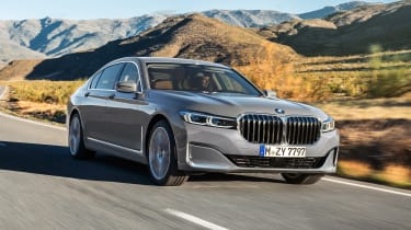 BMW 7 Series facelift - front action