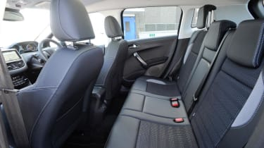 Used Ford EcoSport - rear seats