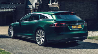 Tesla Model S Shooting Brake estate rear