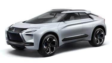 Mitsubishi e-Evolution concept - front