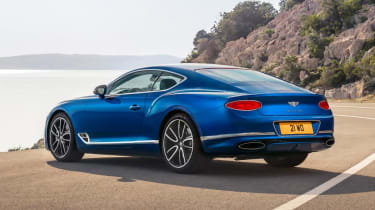 Bentley Continental GT rear - Footballers' cars