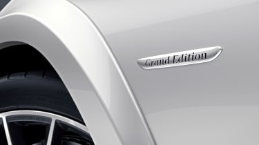 Mercedes GLS Grand Edition badge