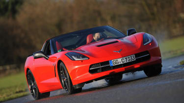 Chevrolet Corvette Stingray UK corner