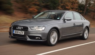 Audi A4 2.0 TDI front tracking