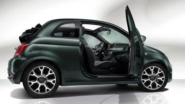 Fiat 500 Rockstar - side door open