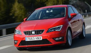 SEAT Leon SC FR 1.8 TSI front tracking