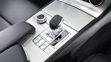 Mercedes SL 500 - centre console