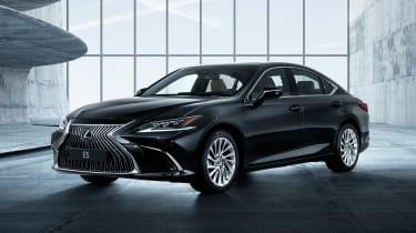 Lexus ES - front black