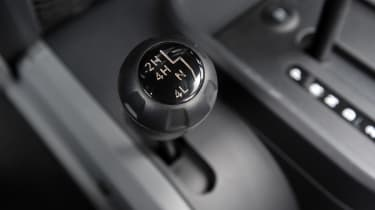 There is a manual option, although it is only available with the thirsty 3.6-litre V6 engine.