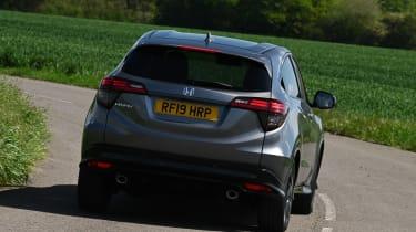 Honda HR-V Sport - rear cornering