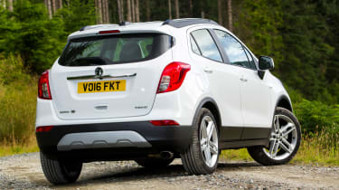 Vauxhall Mokka X 2016 - rear quarter