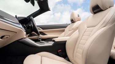 BMW M440i Convertible - seats