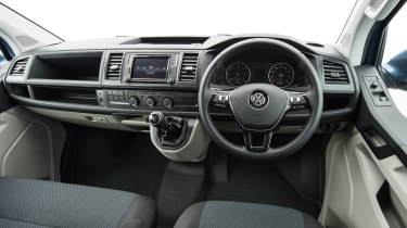 VW Transporter Highline interior