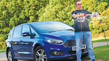 Ford S-MAX long-term - fourth report header