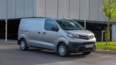 Toyota Proace Electric van - front static