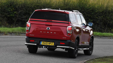 SsangYong Musso long term review - rear cornering