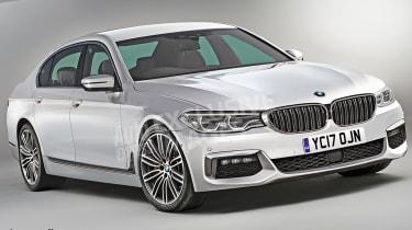 BMW 5 Series 2016 - render