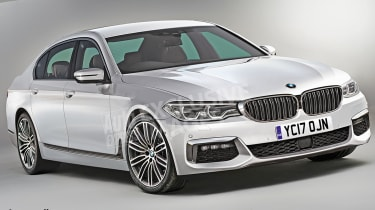 BMW 5 Series 2016 - render