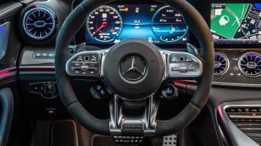 Mercedes-AMG GT 4-door - steering wheel