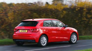 Audi A1 - rear action