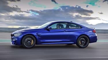 BMW M4 CS - side action