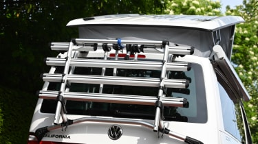 Volkswagen California Ocean long termer - first report bike rack