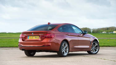 BMW 4 Series Gran Coupe - rear static