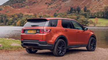 Land Rover Discovery Sport static rear