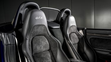 Porsche Boxster GTS 4.0 PDK seats