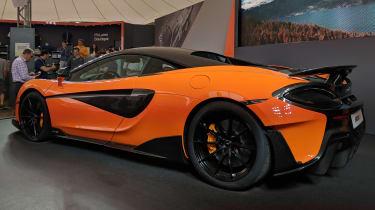 McLaren 600LT nearly rear