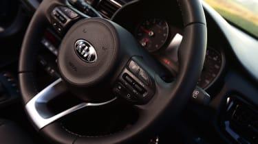 Kia Rio - steering wheel