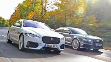 Jaguar XF vs Audi A6